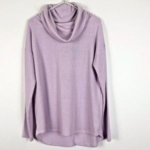 [Rachel Zoe] Purple Cowl Neck Pullover Sweater